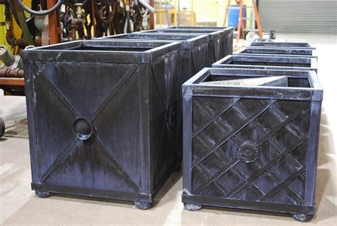 steel planter boxes steel planter boxes dirt simple