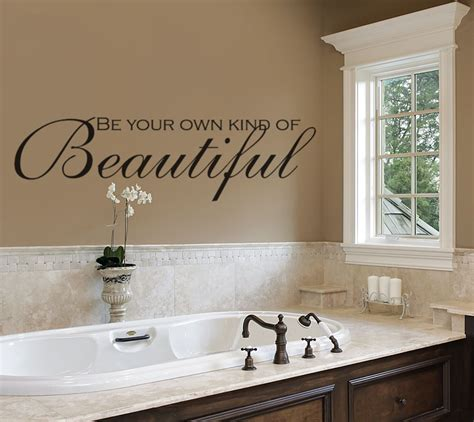 sticker decor for walls bathroom wall decals be your own of beautiful