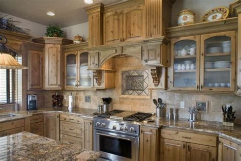 paint colors for kitchen with hickory cabinets backsplash with knotty alder cabinets