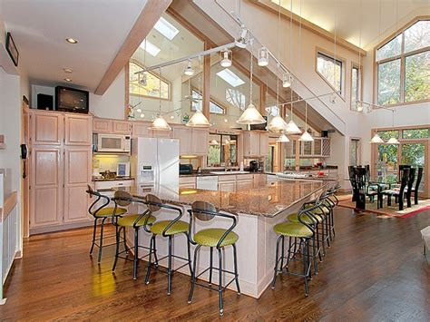 open kitchen floor plans open kitchen floor plans with islands home design and