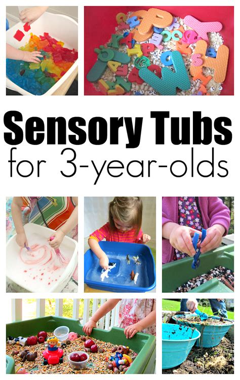 picture books for 3 year olds 10 sensory tubs for 3 year olds no time for flash cards