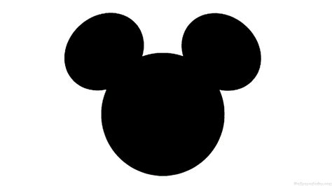 mickey mouse mickey mouse silhouette cliparts co