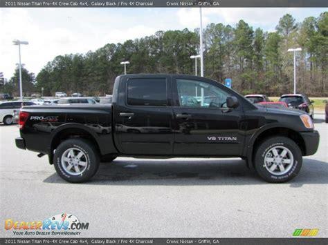 2011 Nissan Titan by 2011 Nissan Titan Pro 4x Crew Cab 4x4 Galaxy Black Pro