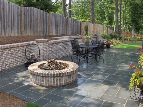patio with pit designs pit designs patio traditional with artistic
