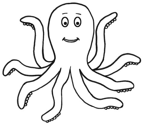 octopus outline free download clip art free clip art