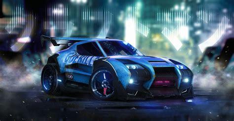 50s Car Wallpaper 1080p League by Rocket League Car Artwork Hd 4k Wallpapers Images