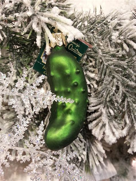 the pickle ornament pickle in the tree 28 images travel pickle trees the