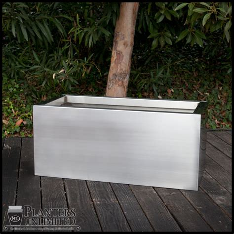 steel planter boxes stainless steel planters steel planter boxes planters