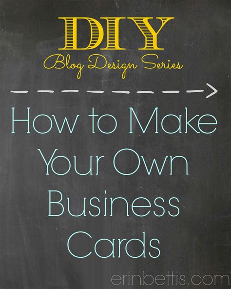 how can i make business cards at home for free how to make your own business cards at home www