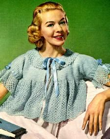 knitted bed jacket pattern free bed jacket vintage crochet bed jacket in size 14 16 is