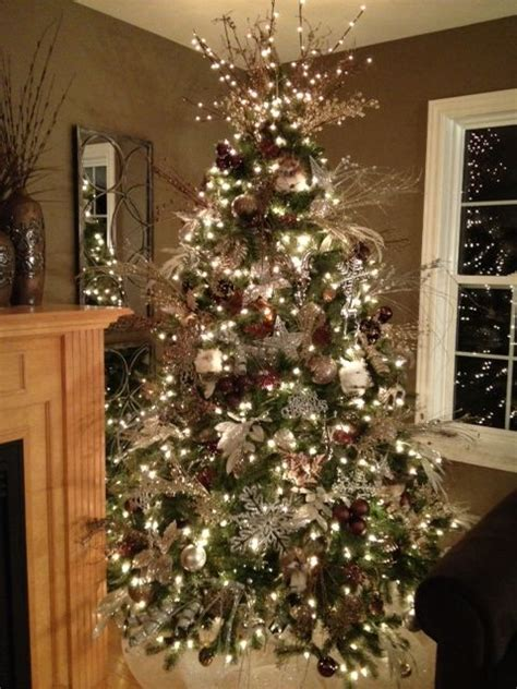 brown decorated tree 67 best tree ideas images on
