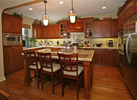 kitchen island cherry wood 23 cherry wood kitchens cabinet designs ideas designing idea