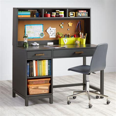 boys desk with hutch cargo desk grey the land of nod