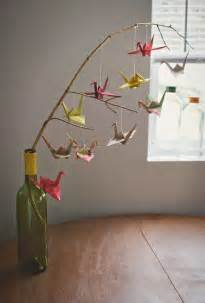 origami mobile how to make a baby mobile and colorful ideas