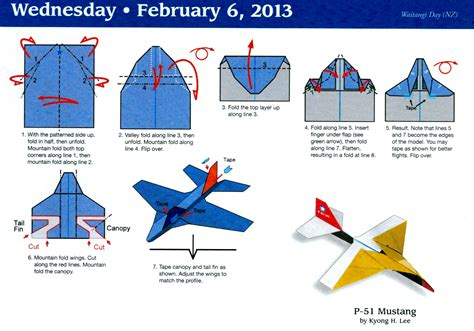 how to make origami airplane paper airplane calendar