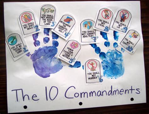 ten commandments for crafts up a child 10 commandments pt 2 his treasure seekers