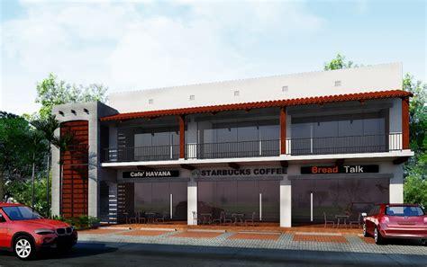 Large Farmhouse Floor Plans storey commercial building design philippines proposed