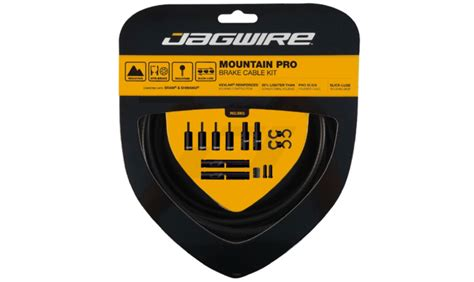 professional rubber sts kit de cables y latiguillos jagwire mountain pro cables