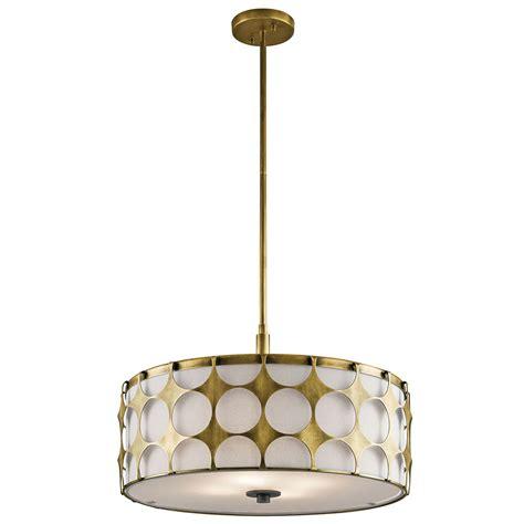 drop ceiling lighting fixtures kichler 43276nbr charles modern brass drum drop