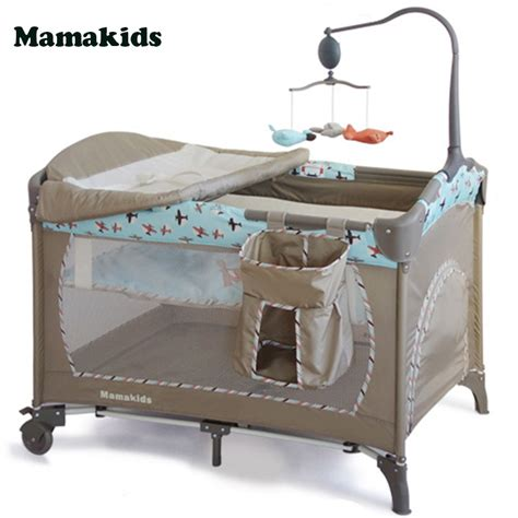 portable baby crib for travel multi function baby portable crib folding bed playpen crib