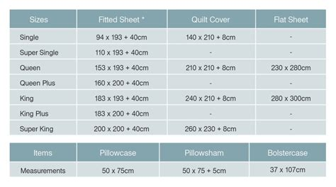measurements of size bed bed sheet bedding sizes measurements