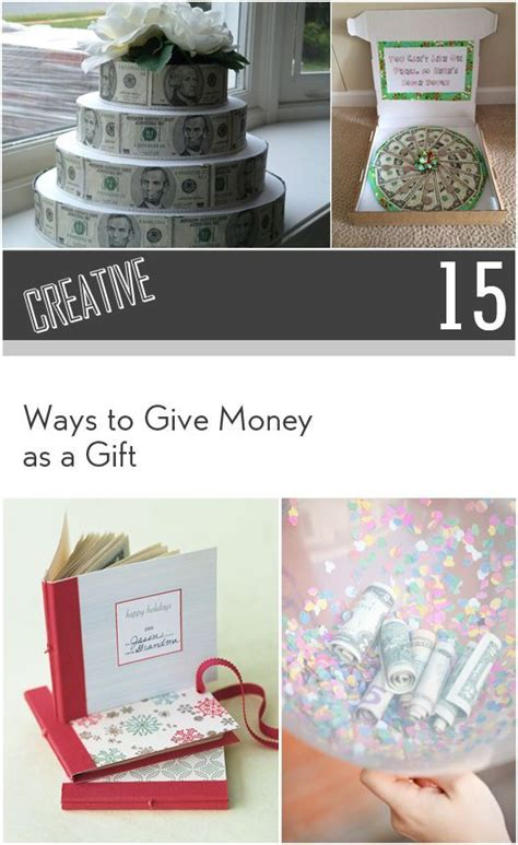 15 creative ways to give as a gift creative
