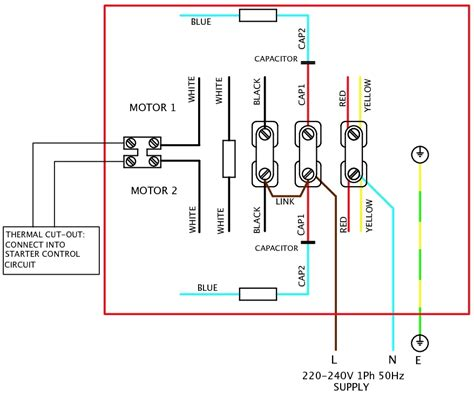 Single Phase Motor by Single Phase Motor With Capacitor Forward And