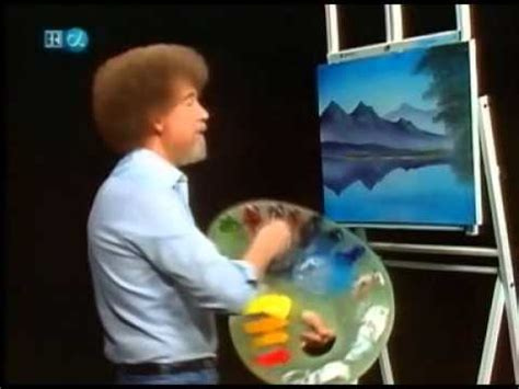 bob ross painting real real speed painting by bob ross paintings