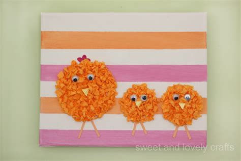 tissue paper easter crafts tissue paper easter family crafts