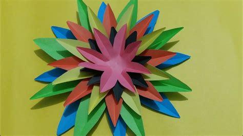 awesome paper crafts awesome paper crafts flower wall decor ideas diy craft