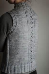easy knit vest free patterns best 25 knit vest pattern ideas on tejidos