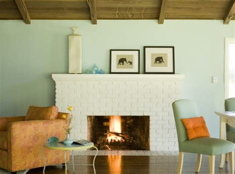paint colors for living room with brick fireplace living room paint ideas find your home s true colors