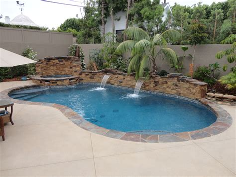 triyae backyard pool and spa various design