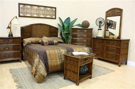 rattan wicker bedroom furniture rattan and bamboo bedroom furniture sets