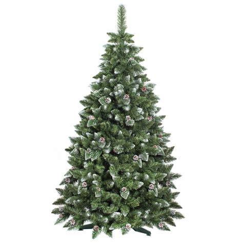 kiefer weihnachtsbaum 120cm k 252 nstlicher weihnachtsbaum kiefer mit schnee