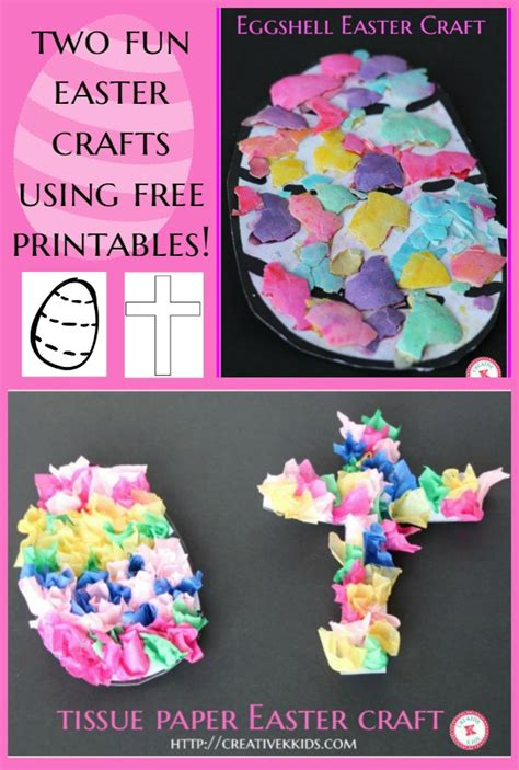 free easter crafts for two easter crafts for free printable creative k