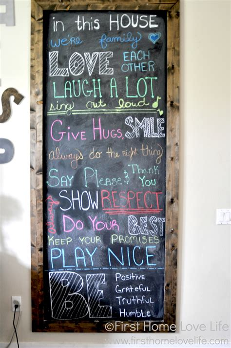 painting chalkboard signs how to make your own chalkboard framed home