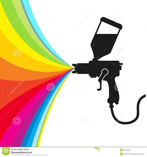 spray painter vector spray paint vector stock vector image of white spray 40119792