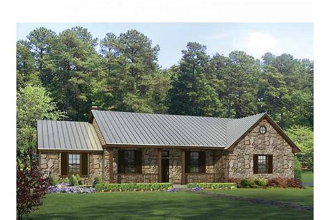 house plans for ranch style homes hill country split bedroom plan hwbdo69040 ranch