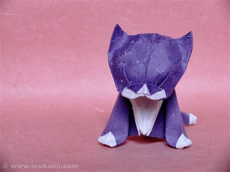 kitten origami beautiful exles of origami paper hongkiat
