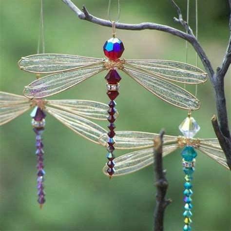 beaded dragonfly beaded dragonfly sun catchers ideas