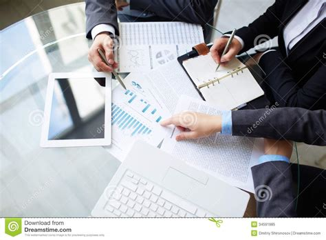planning a for work planning work stock image image of meeting business