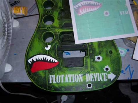 spray painting your guitar how to paint a guitar or guitar bomber