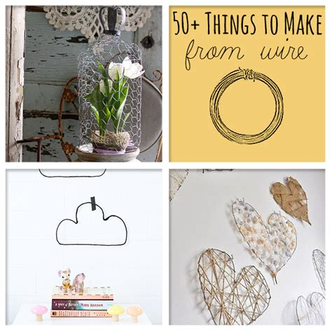 craft wire projects 50 awesome things to make from wire