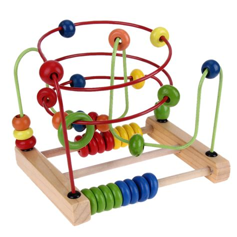 bead roller coaster counting circles bead abacus wire maze wire roller coaster