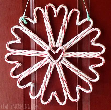crafts with canes wreath craft for crafty morning