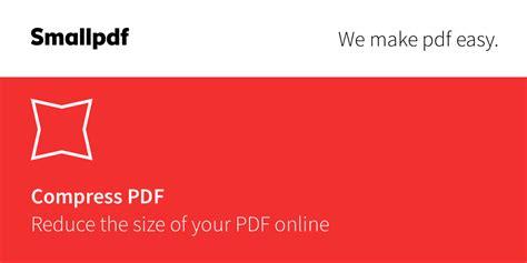 compress pdf compress pdf reduce your pdf for free