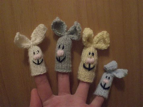 knitted puppets free patterns knitted finger puppet patterns a knitting