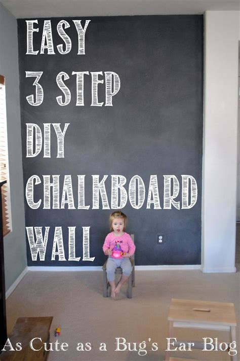 is painting chalkboard paint easy best 25 chalkboard paint walls ideas on