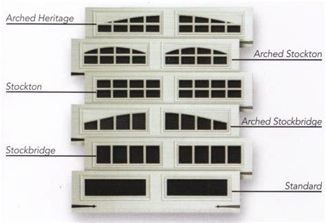 Garage Door Plastic Window Inserts Carriage House Garage Door Window Inserts A Plus Garage Doors